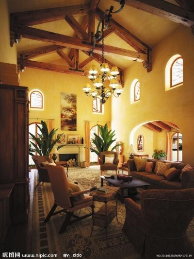 棕色的美式风格,古典主义的沉稳大气抑或白色清爽的欧式田园风格.