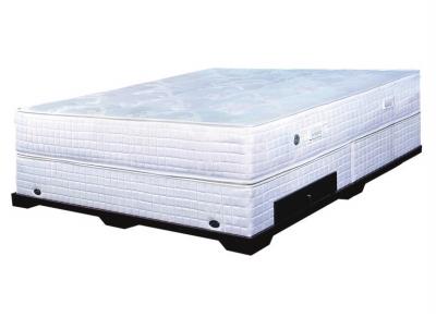 """采用3d材质,""""x""""型中空立体结构形成微循环功能,透气排湿,保持床垫干爽"""