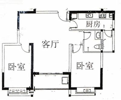 八米乘九米房屋二层平面设计图图片