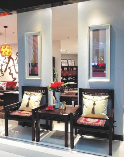 中式现代家具庄正吉祥的寓意也体现了其自身的文化