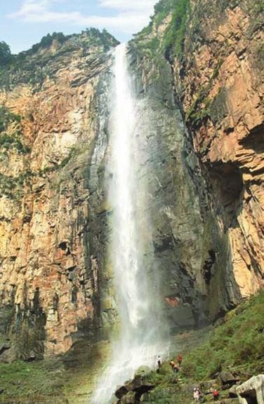 壁纸 风景 旅游 瀑布 山水 桌面 376_576 竖版 竖屏 手机