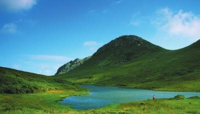 海岛焦石风景图
