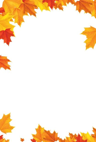 简单关于秋天的边框