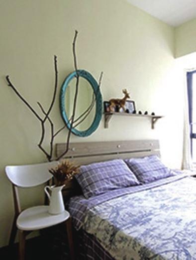 欧式卧室墙上挂件