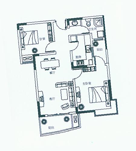 八米宽十一米长房子设计图
