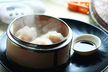 水晶虾饺,我最喜欢吃的一个面点
