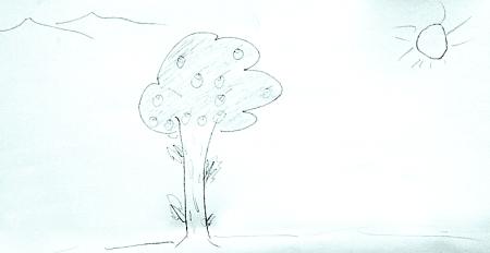 内向式展示空间手绘