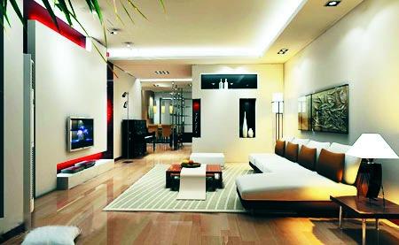 我们可以从客厅电视墙的造型