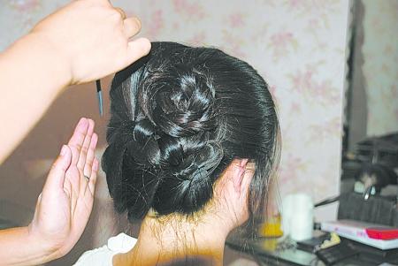 古代公主发型步骤图解