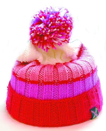 宝宝绒球帽子图解
