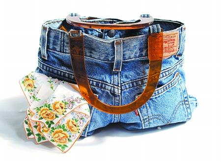 旧衣服改造包包图解法