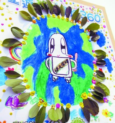 美丽大自然儿童绘画_风景520