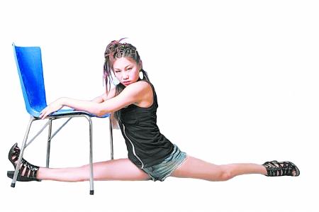 爵士舞发型图片