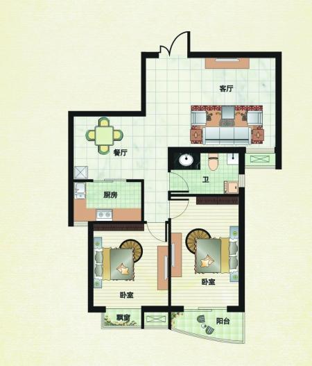 简易画房子步骤图解