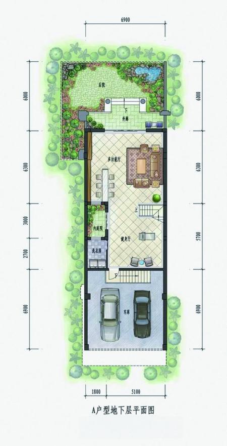 双露台设计,将室内空间无限放大,四季美景尽可登堂入室.