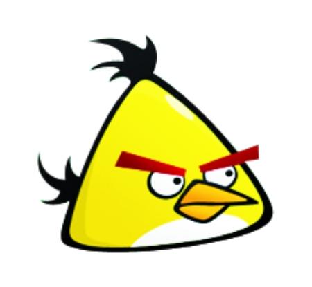 卡通小鸟玩手机卡通-首席运营官 卡通